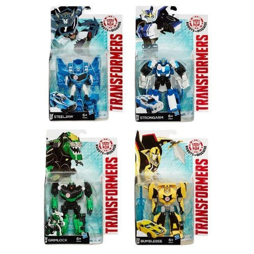 Hasbro - Transformers Robots in Disguise Warriors Personaggi Assortiti