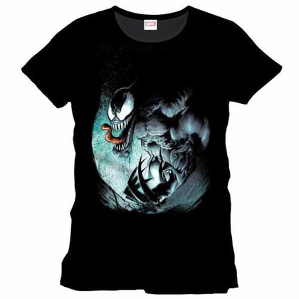 T-Shirt Marvel Comics T-Shirt Black Venom - Size L