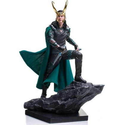 Action Figures - Thor Ragnarok Battle Diorama Series Statue 1/10 Loki 25 cm