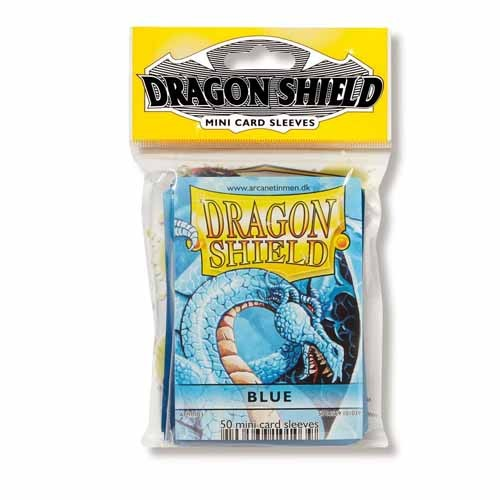 Dragon Shield - Deck Protector Japanese Classic Blue 50 pcs