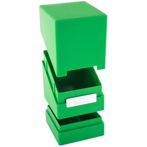 Ultimate Guard - Porta Mazzo Monolith Deck Case 100+ Standard Verde