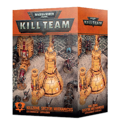 Killzone di Kill Team: espansione dell'ambiente Sector Mechanicus