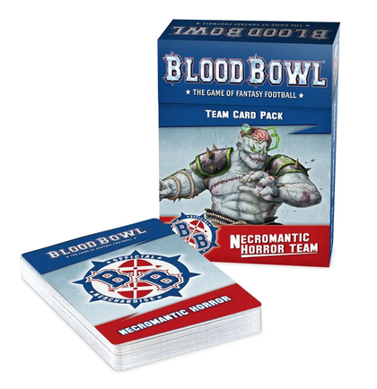 Blood Bowl Necromantic Horror Team Card Pack (Inglese)