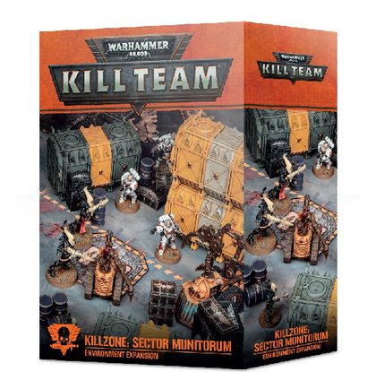 Killzone di Kill Team: espansione dell'ambiente Sector Munitorum