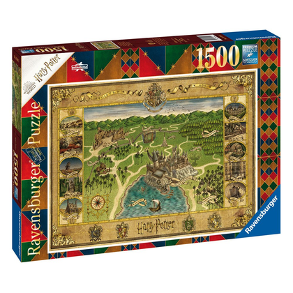 Harry Potter Jigsaw Puzzle Hogwarts Map (1500 pieces)