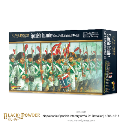 Napoleonic Spanish Infantry (2nd & 3rd Battalions) 1805-1811