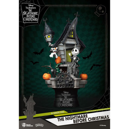 Nightmare before Christmas D-Stage PVC Diorama Jack's Haunted House 15 cm