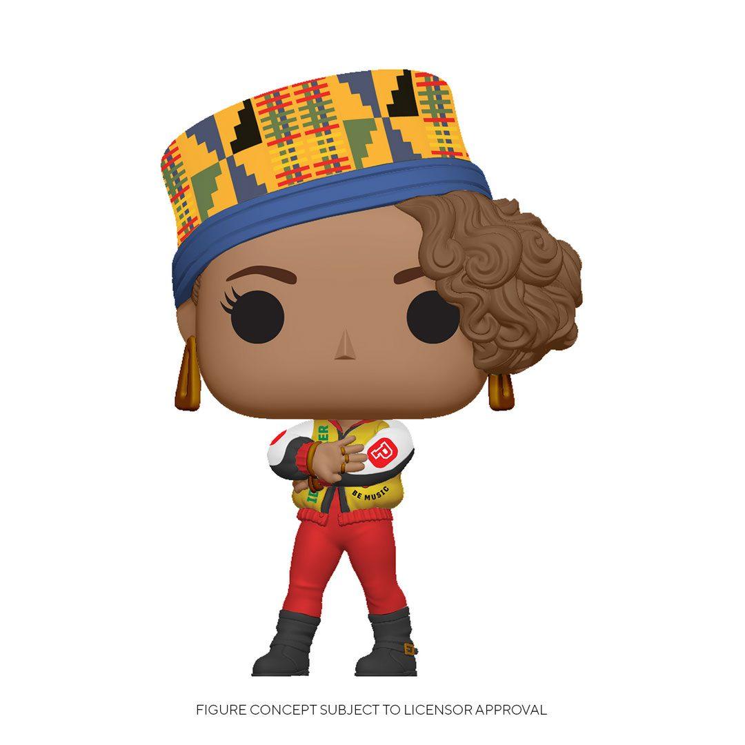 Salt-N-Pepa POP! Rocks Vinyl Figure Pepa 9 cm