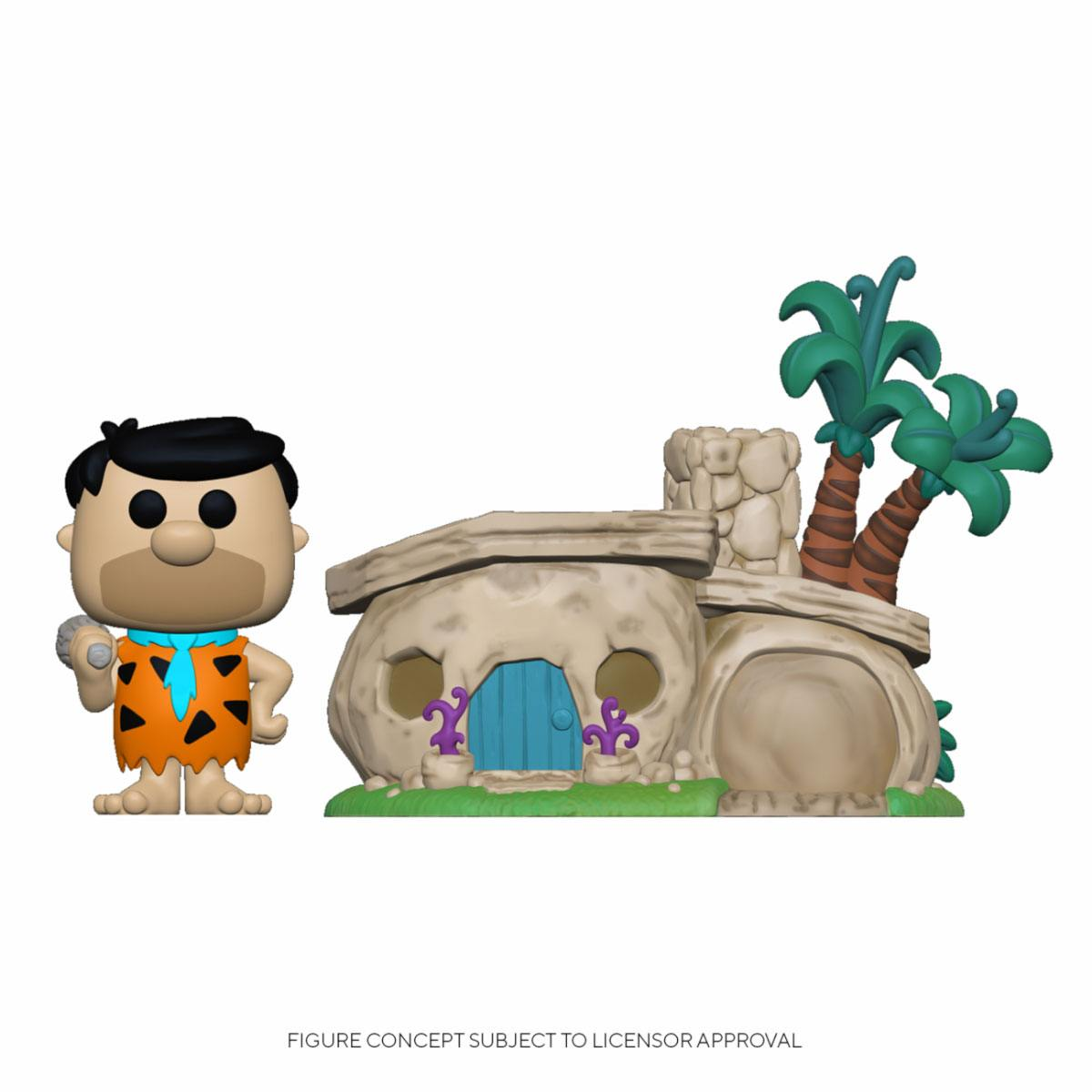 The Flintstones POP! Town Vinyl Figure Flintstone's Home 9 cm