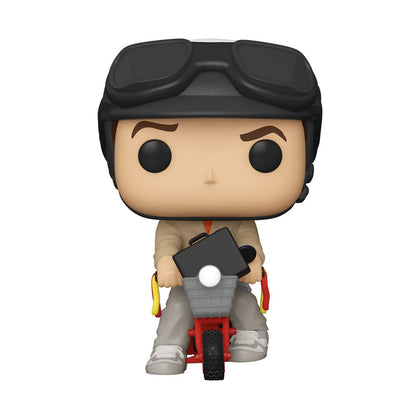 Dumb and Dumber POP! Rides Vinyl Figure Lloyd Christmas on Bicycle 18 cm