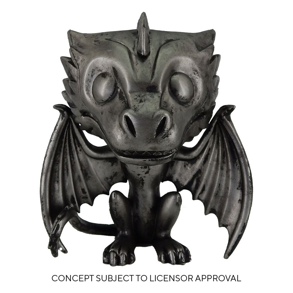 Game of Thrones POP! TV Vinyl Figure Drogon (Iron) 9 cm