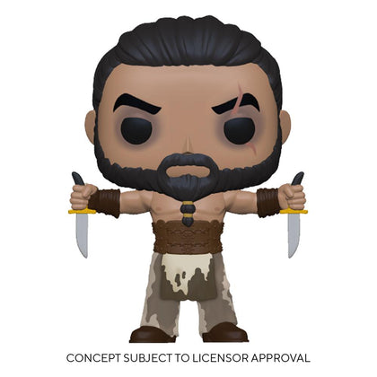 Game of Thrones POP! TV Vinyl Figure Khal Drogo w/Daggers 9 cm