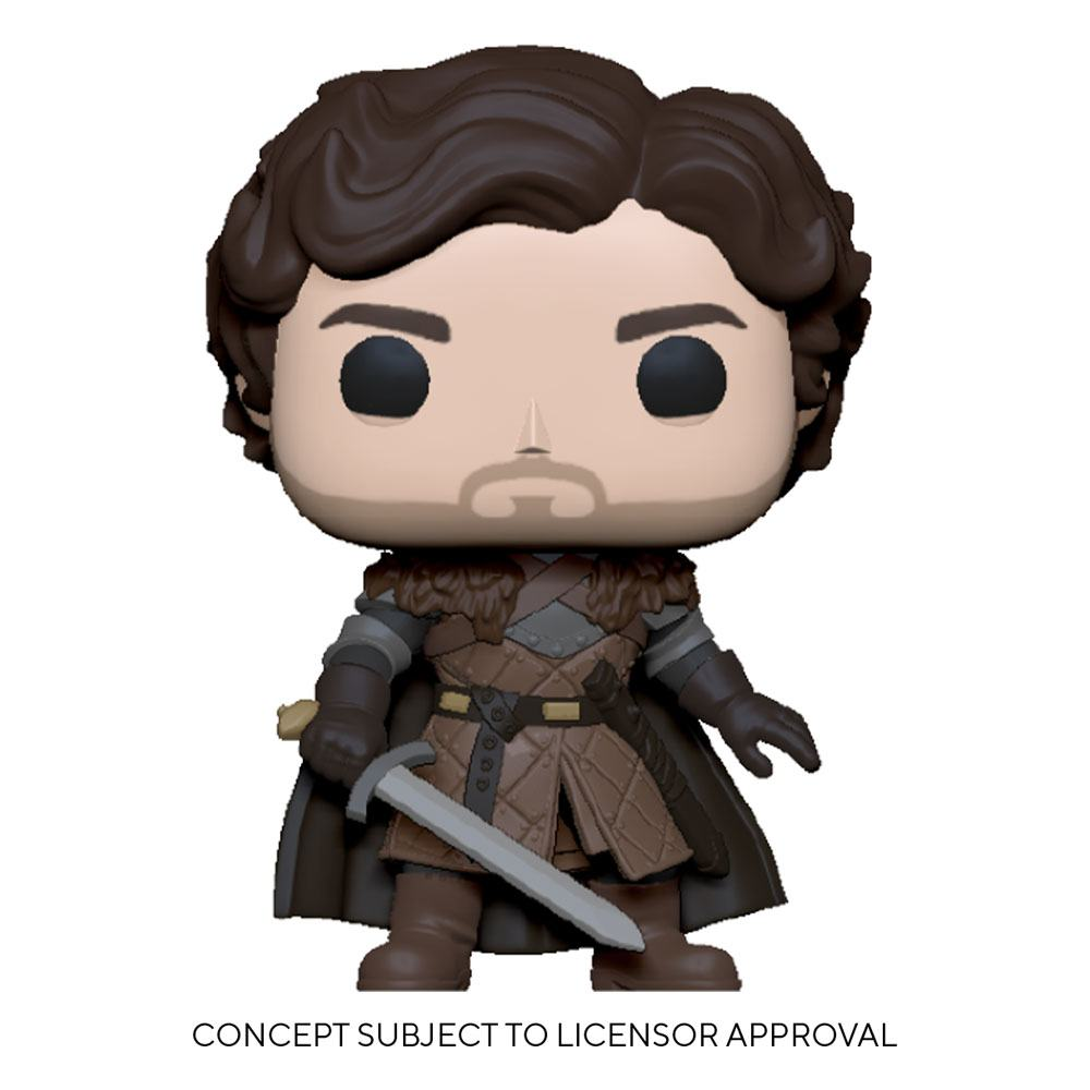 Game of Thrones POP! TV Vinyl Figure Robb Stark w/Sword 9 cm