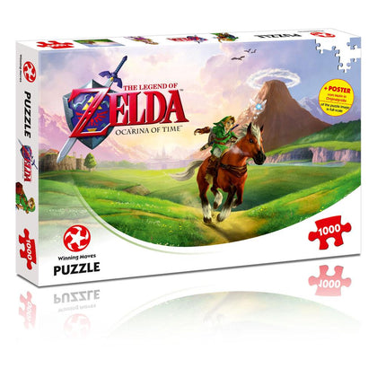 Legend of Zelda Jigsaw Puzzle Ocarina of Time (1000 pieces)