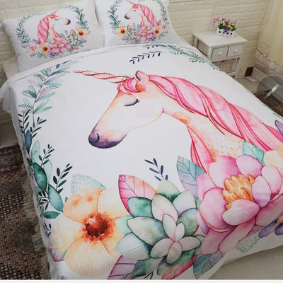 Unicorn Quilt Cover