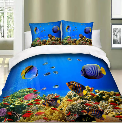Fish Tank Quilt Cover
