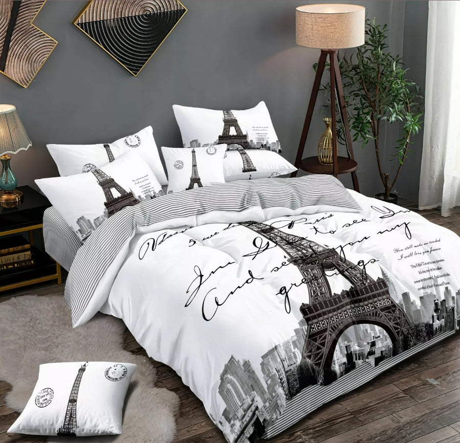 Paris Quilt Cover
