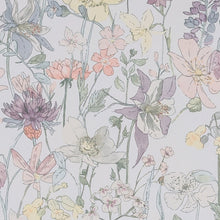 Load image into Gallery viewer, Colourful Flora Thermal Blackout Roller Blind