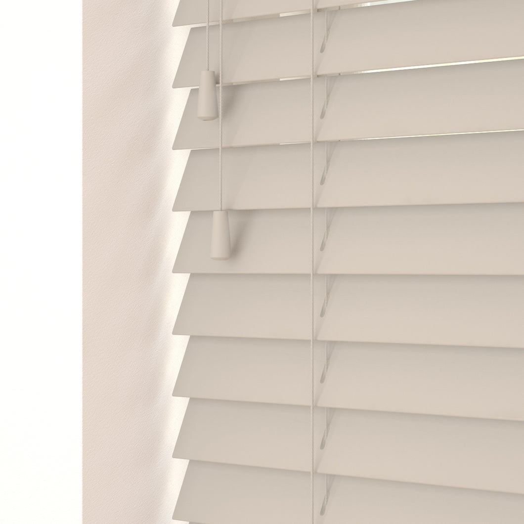 Gravity Faux Wood Venetian Blind