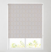 Load image into Gallery viewer, Natural Ellipse Thermal Blackout Roller Blind