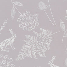Load image into Gallery viewer, Hares Beige Thermal Blackout Roller Blind