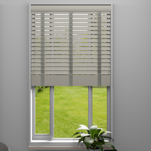 Load image into Gallery viewer, Mirage Faux Wood Venetian Blind with Tapes