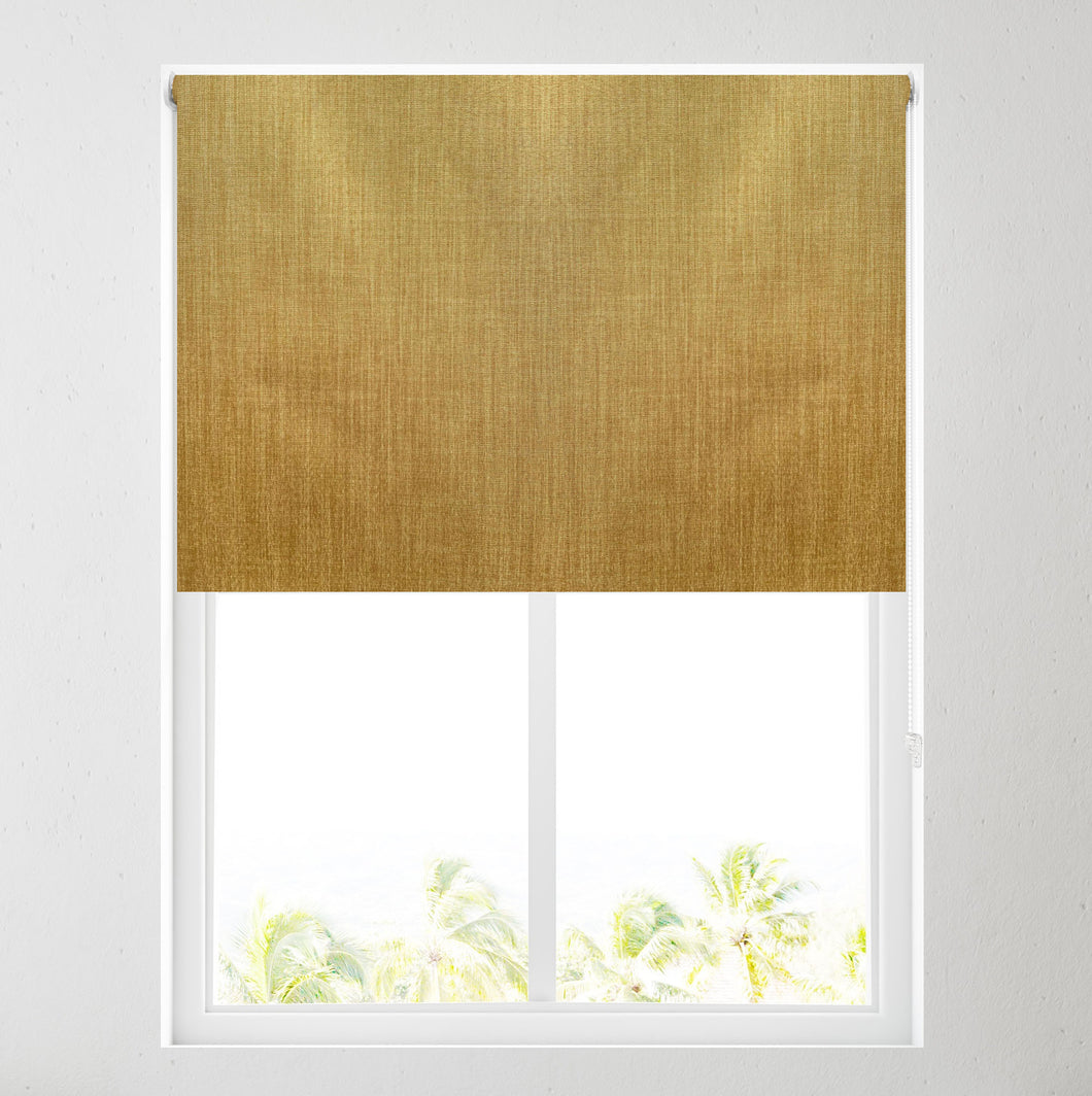Ochre Paris Thermal Blackout Roller Blind