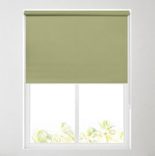 Load image into Gallery viewer, Nova Glade Green Blackout Roller Blind