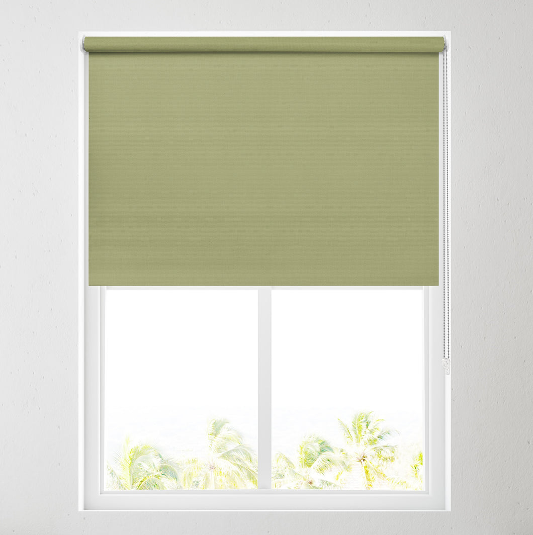 Nova Glade Green Blackout Roller Blind