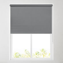 Load image into Gallery viewer, Nova Rock Charcoal Blackout Roller Blind