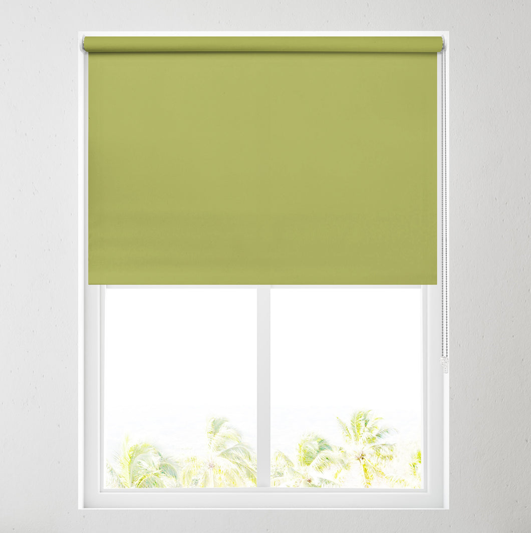 Nova Vine Green Blackout Roller Blind