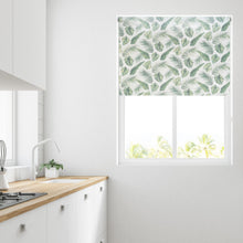 Load image into Gallery viewer, Green Palm Daylight Roller Blind