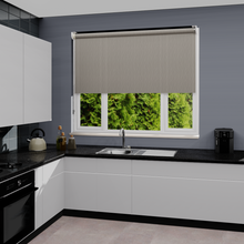 Load image into Gallery viewer, Delia Zinc Dim Out Roller Blind
