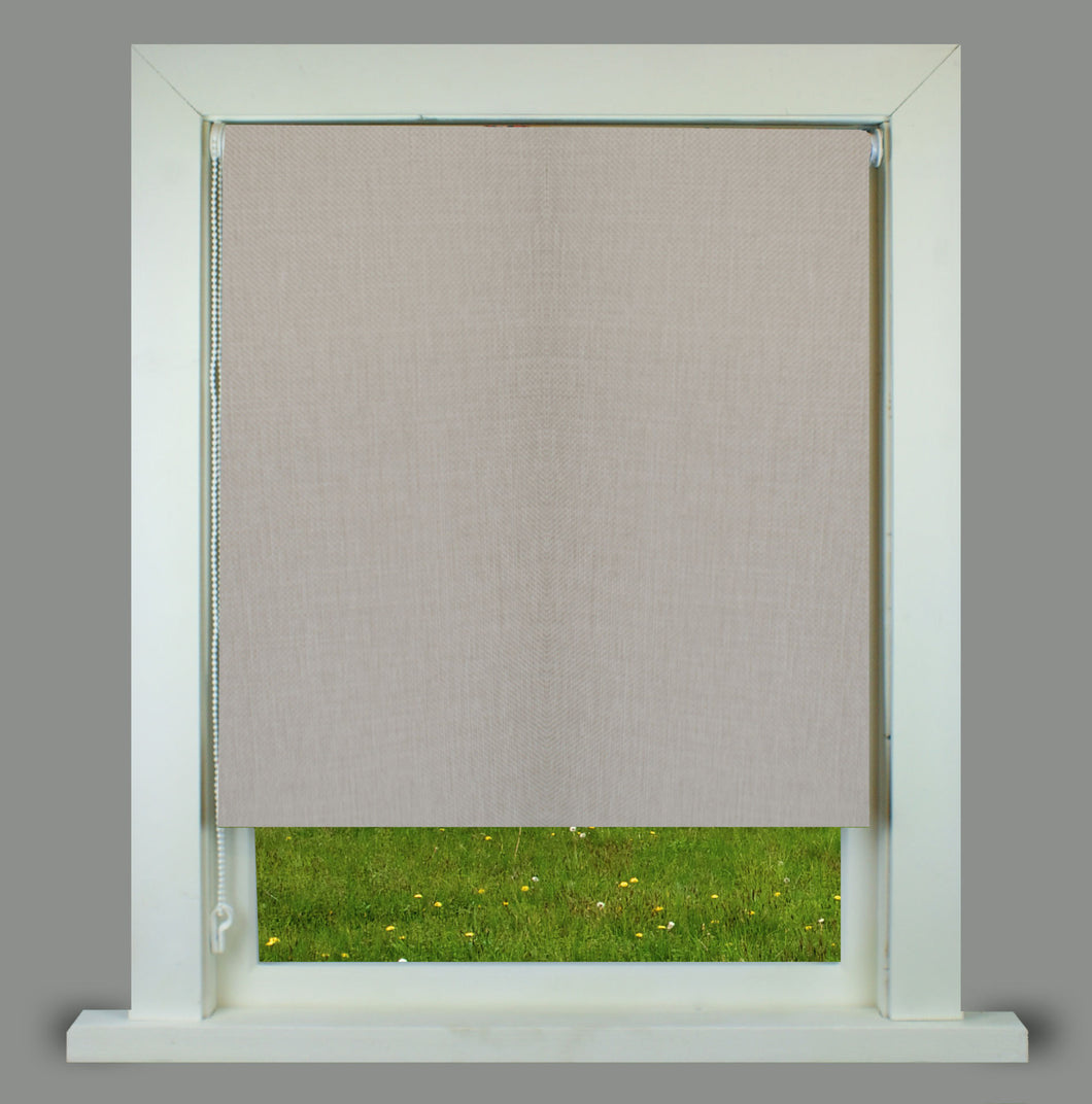 Ivy Grey Textured Thermal Roller Blind