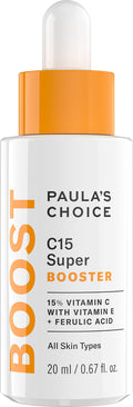 Paula's Choice BOOST C15 Super Booster, 15% Vitamin C with Vitamin E & Ferulic Acid, Skin Brightening Serum, 0.67 Ounce