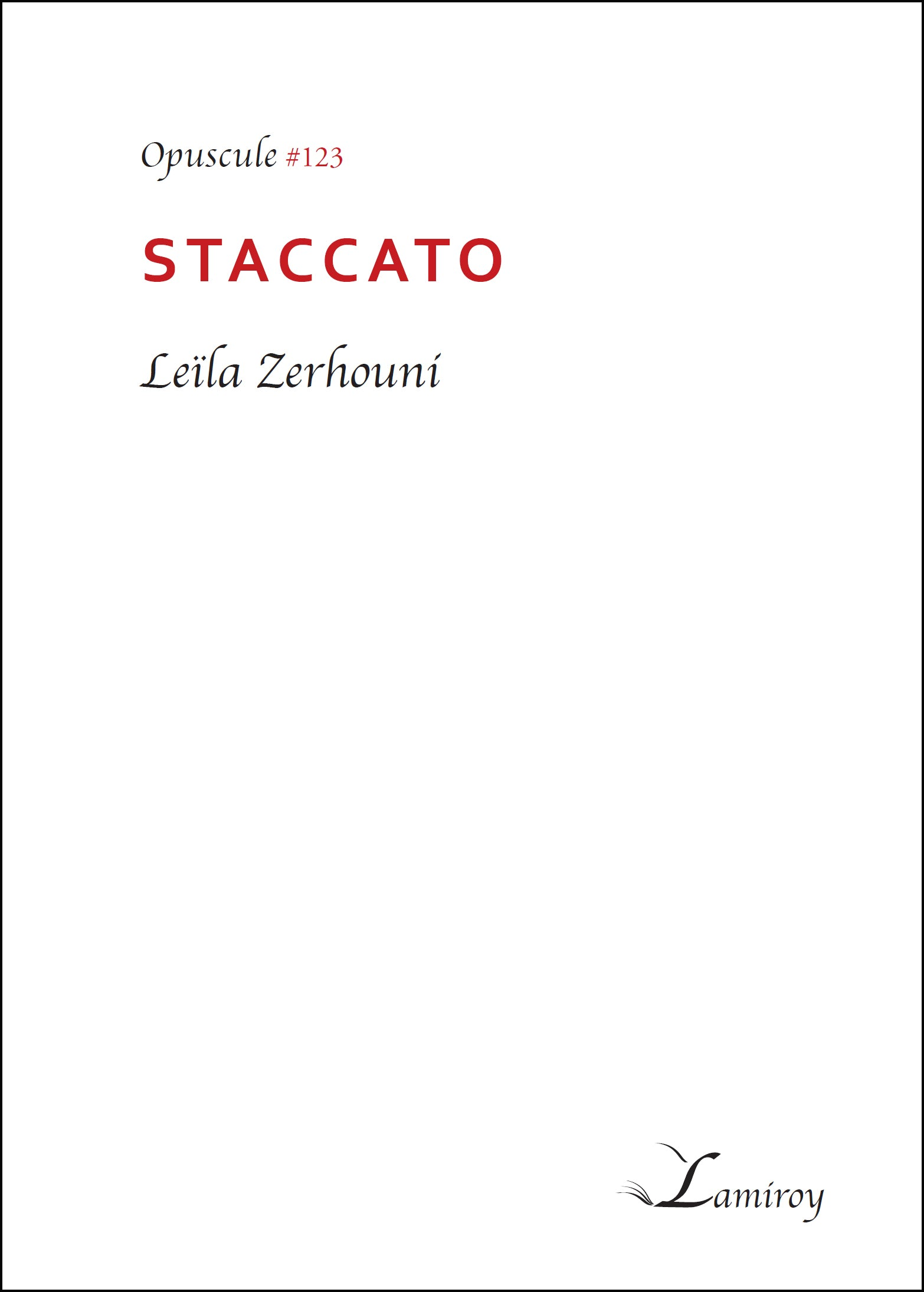 Staccato #123