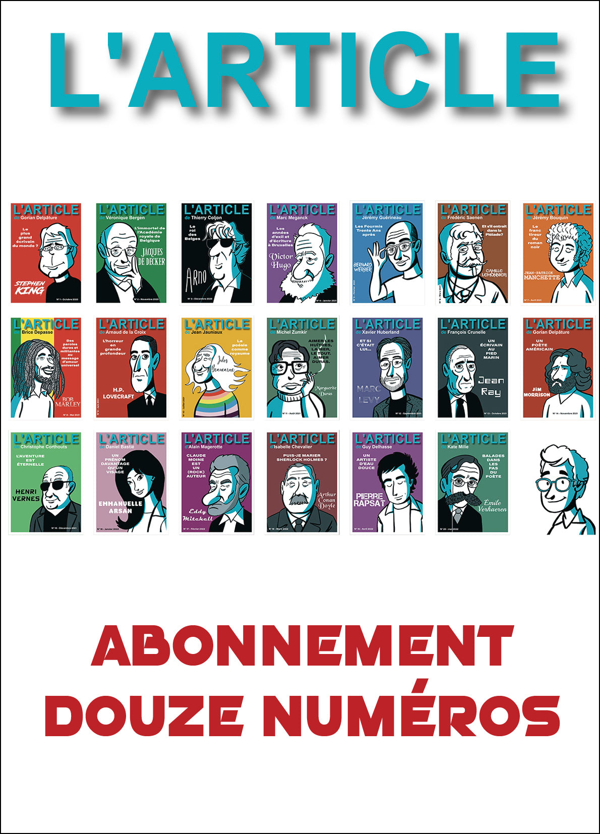 L'article : 1 an d'abonnement