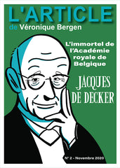 L'article #02 : Jacques De Deker