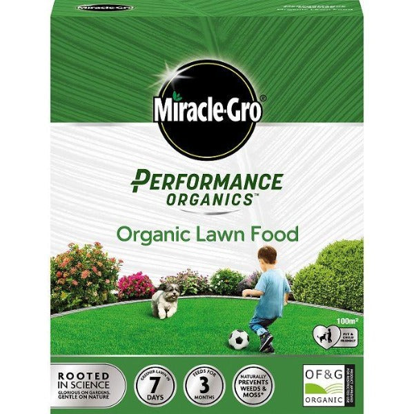 Miracle-Gro Performance Organics Lawn Food