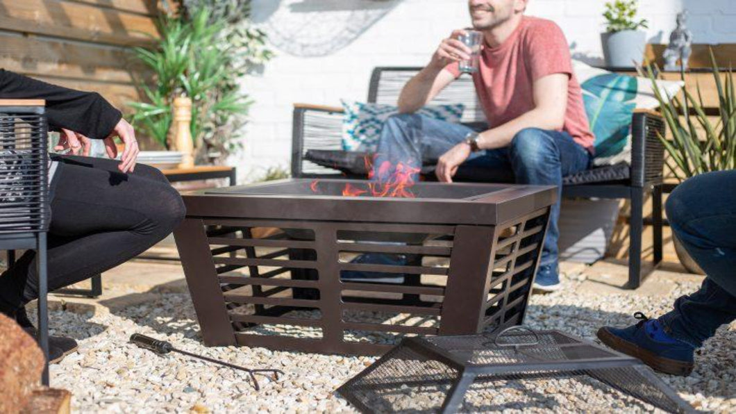 Elda Firepit with Grill