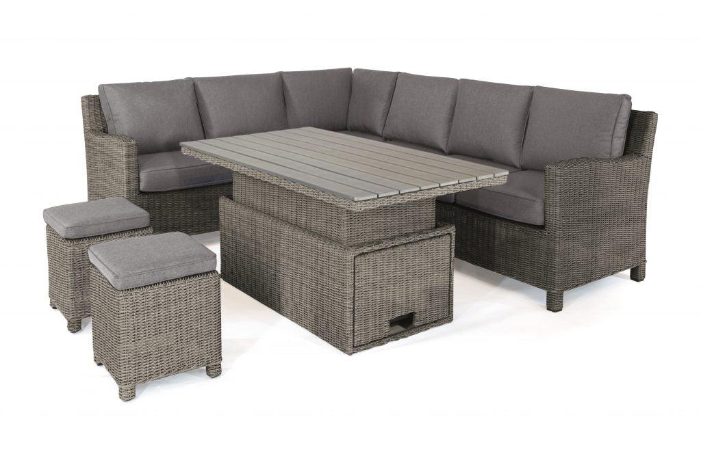 Palma Corner Sofa with Adjustable Table