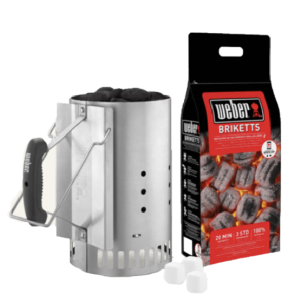 Rapid Fire Chimney Starter Set