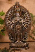 Goddess Tara Buddha Idol Resin Statue