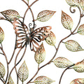 Metal Beautiful Tree Butterflies On Branches Wall Hanging Showpiece
