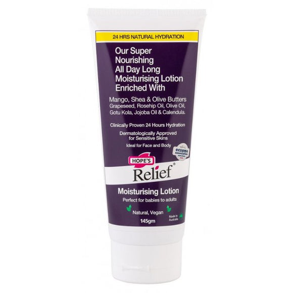 Hope's Relief Moisturising Lotion (Vegan)