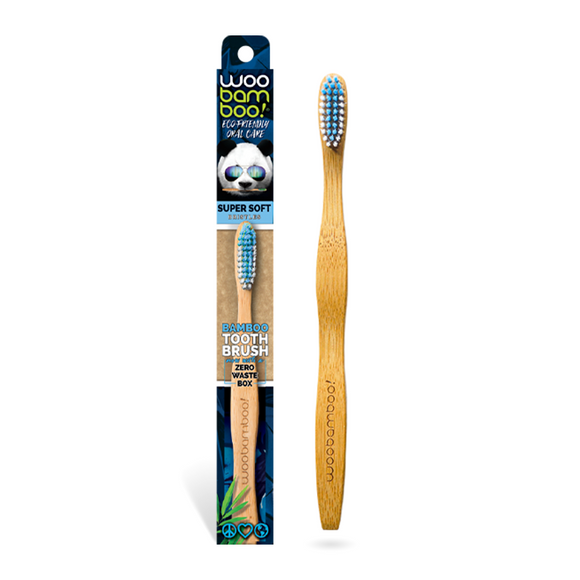 Woobamboo Adult standard toothbrush – Super Soft