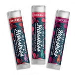 Crazy Rumours Hibiskiss Lipbalms, in Breeze, Coral and Tropical