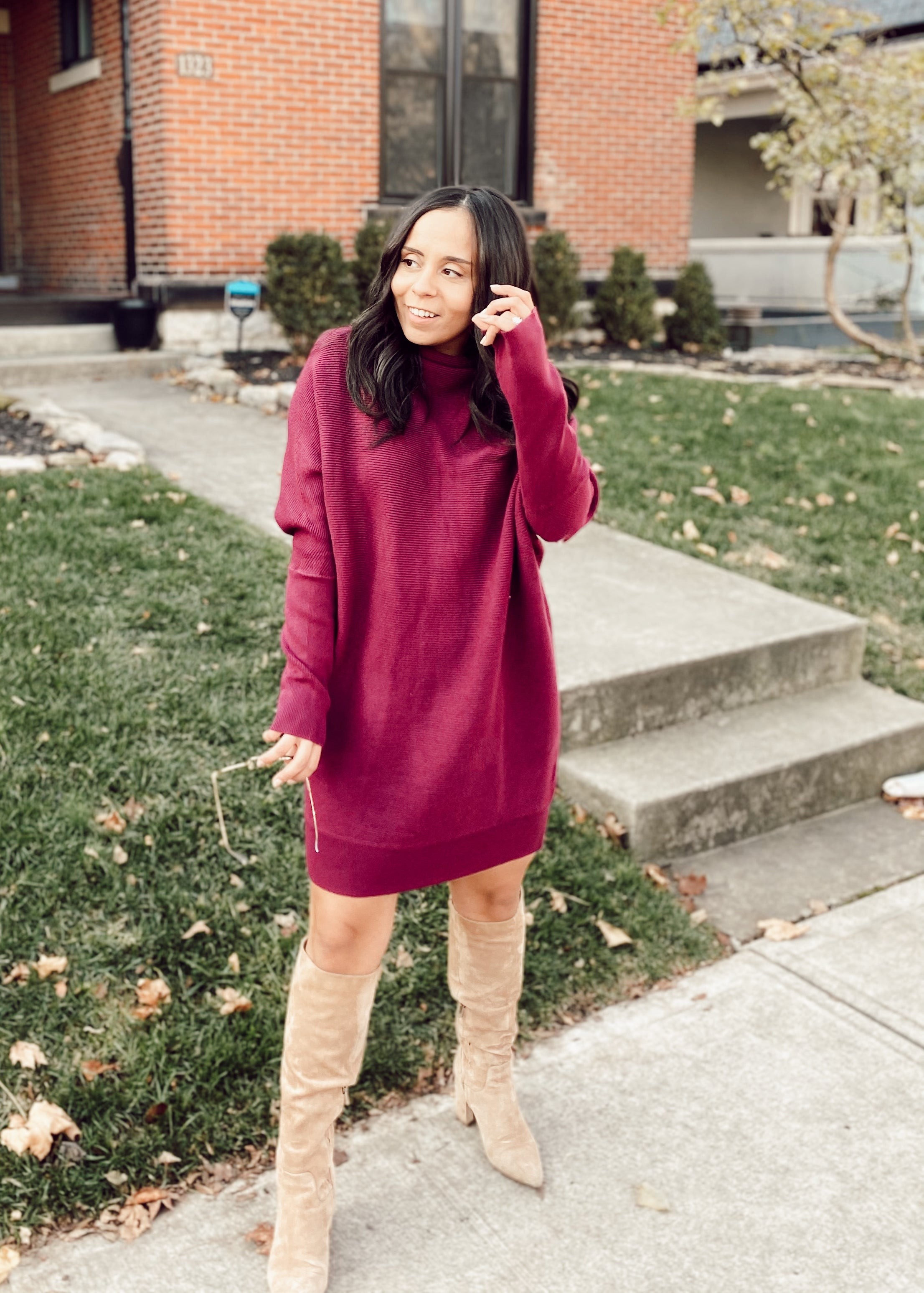Danielle Sweater Dress