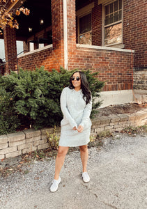 Lucy Hooded Sweater Dress