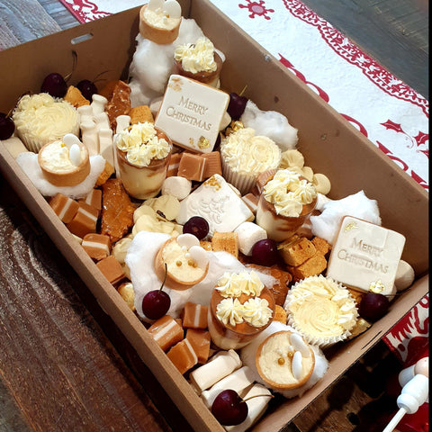Dessert Box - Christmas Theme